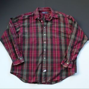 Polo Ralph Lauren Flannel Plaid Button down
